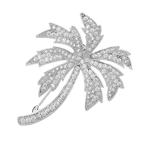 jojofuny Coconut Tree Brooch Alloy Cute Cartoon Pins for Clothing Bags Backpacks Jackets Hat Jewelry
