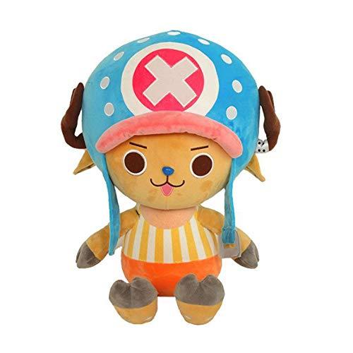 "Etoilemer Peluche de una Pieza One Piece Luffy Tony Tony Chopper Sanji Muñeca de Peluche de Anime 11.7"""