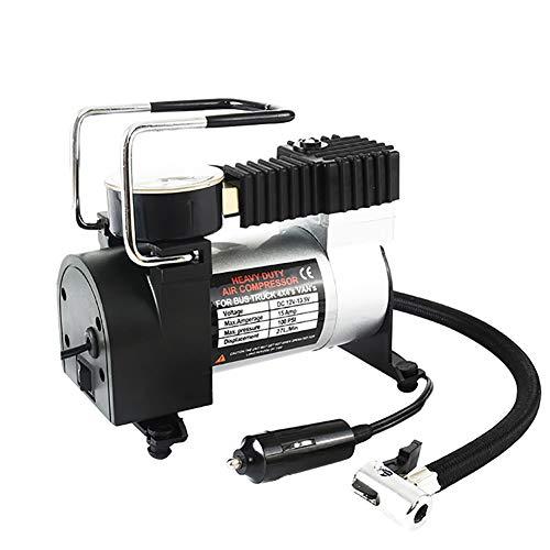 DSMGLRBGZ Compresor Aire Coche, Inflador Electrico Números Precisos 120W DC12V para Auto Motocicleta Globo 100PSI Inflar En 3 Minutos