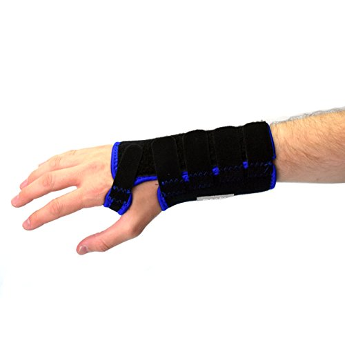 meglio atmungsaktive Handgelenkbandage – mit herausnehmbarer Schiene für zusätzliche Unterstützung – Hilft bei Karpaltunnelsyndrom, und bietet Unterstützung bei Sport und Fitness