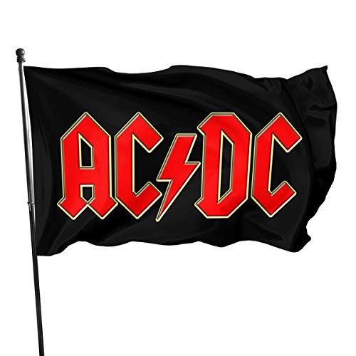 NOT BRAND ChenMingGao Home Decoration ACDC Garden Flag Indoor Outdoor Flag 3x5 FT