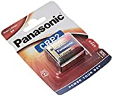 Panasonic Photo Lithium Battery CRP2 - Pilas (Nickel-Oxyhydroxide (NiOx), 6 V, 1400 mAh, 34 mm, 17 mm, 45 mm)