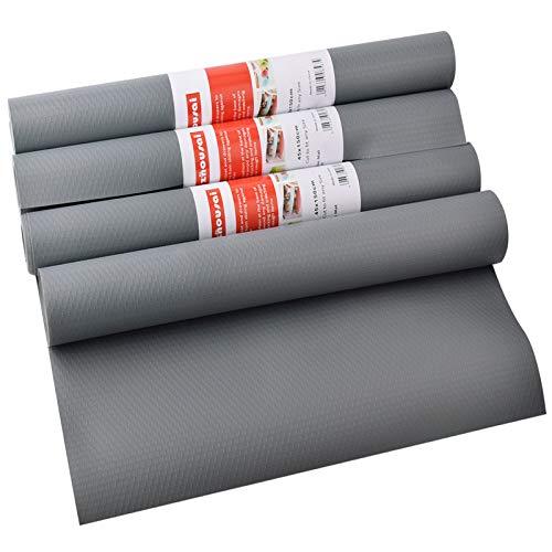 Awinker 4 Rollos 45X150cm Protector Cajones Cocina Impermeable Reutilizable Protector Cajon Estera del Refrigerador