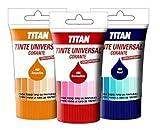 Titan - Tinte universal negro titan 250 ml