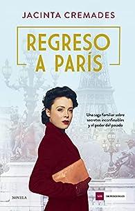 Regreso a París par Jacinta Cremades