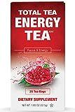 Total Tea Detox Guayusa Energy Tea - All Natural Herbal Caffeinated Tea Cleanse - Increase Energy &...