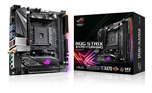 ASUS ROG Strix X470-I Gaming AMD Ryzen 2 AM4 DDR4 HDMI M.2...