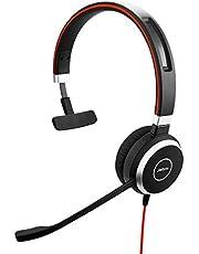 Jabra Evolve 40 Mono-headset endast med 3,5 mm uttag (utan USB-kontroll) - optimerat för enhetlig kommunikation