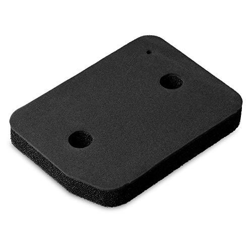 Filtro de espuma de repuesto para secadora Miele 9164761 de 207 x 155 mm, compatible con Active TDB230WP TDB230 WP Active Family TDD230WP TDD230 WP Active Plus TCE530WP