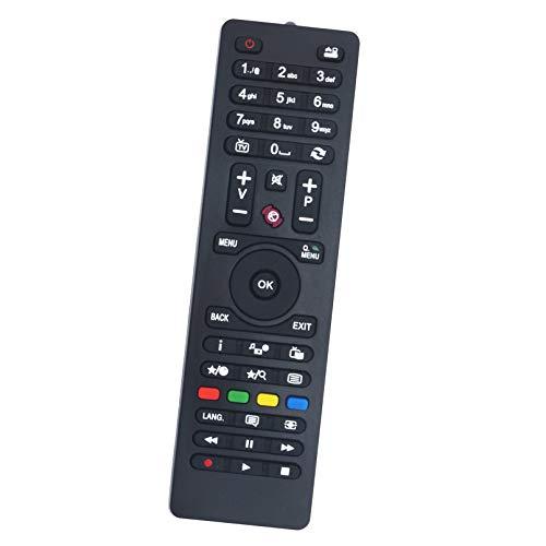 ALLIMITY RC4849 RC4870 RC4875 Mando a Distancia Reemplazar Apto para Telefunken TV TE40282B34C2H TE20265B30C10E-LED TE32EUB35TXD TE28275B30C10E TE24275-B30C10E TE24EUB37TXB TE22275B31FT10E
