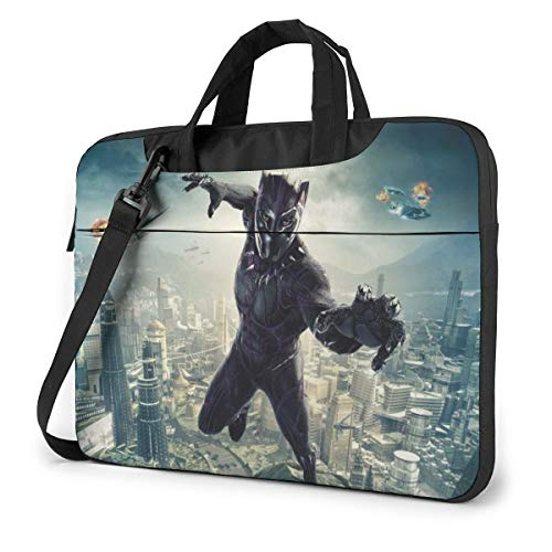 Black Panther Laptop Sleeve Bag Case 13 inch MacBook Air Pro Notebook Sleeve Case Portable Briefcase Tote