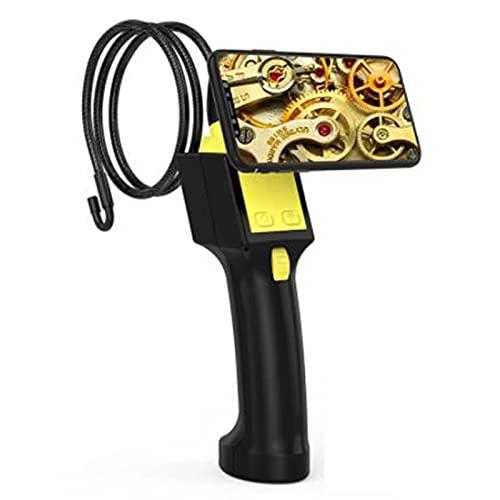 tyui Cámara de endoscopio, WiFi portátil portátil Giratorio de 360 Grados 8 mm, Motor automotriz Cilindro de la dirección de la dirección Industrial, inspección de la tubería