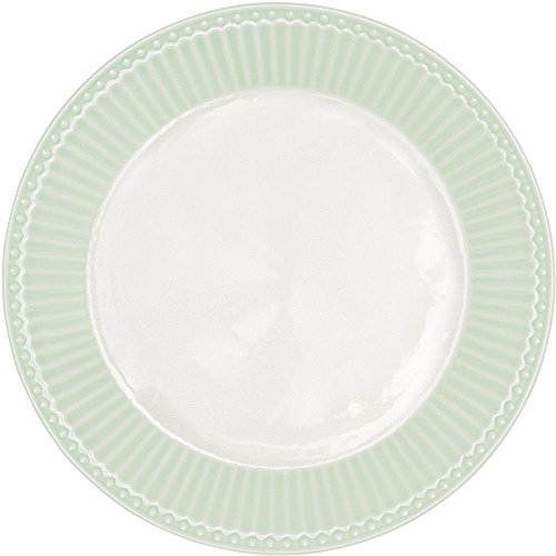 GreenGate Teller - Plate - Alice Pale Green 20,5 cm