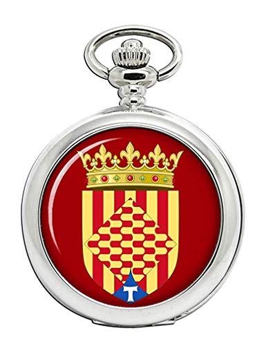 Tarragona (España) Reloj Bolsillo Hunter Completo