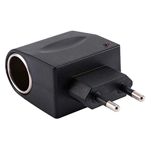 Digit.Tail AC à DC 12V/1A 12W Adaptateur Converter [110V - 240V vers 12V] Prise d'Allume-Cigare de Voiture Socket Transformateur Convertisseurs pour Auto Enregistreur Vidéo/Cameras, DVR, GPS