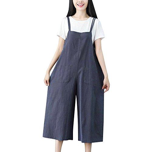 showsing-women clothes Damen Jumpsuit schwarz blau XXX-Large