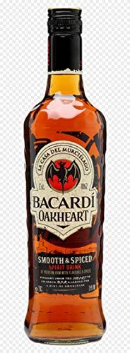Bacardi Oakheart Ron - 700 ml