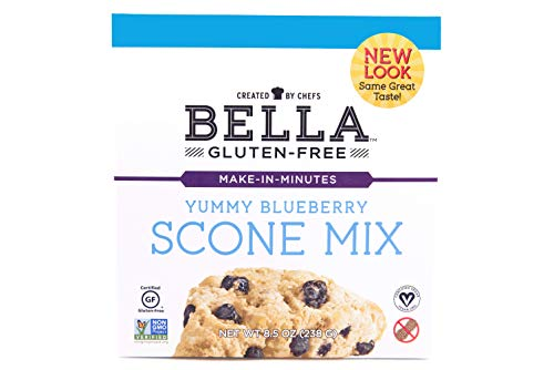 Bella Gluten Free, Mix Scone Blueberry Gluten-Free, 8.5 Ounce