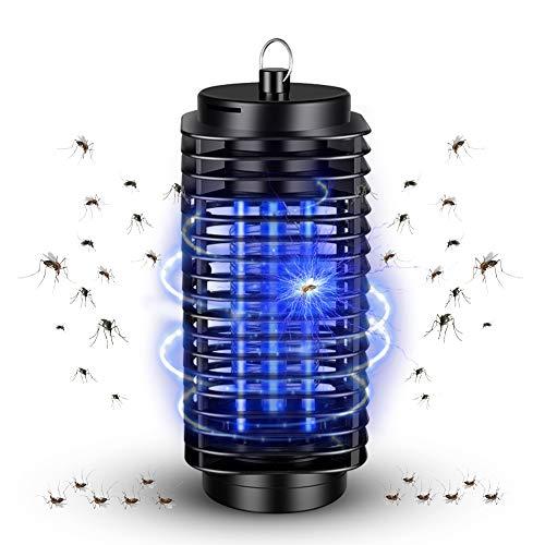 Insektenvernichter Elektrisch, UV Insektenvernichter LED mit Reinigungspinsel, Mückenkiller Elektrisch Schutz vor Elektrischem Schlag, LED Mückenfalle, Mosquito Killer Lamp, für Indoor Outdoor Camping