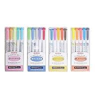 Zebra Mildliner Highlighter Pen Set, 20 Pastel Color Set (Japan Import)