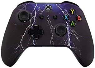 Violet Rapid Fire Custom Modded Controller Compatible with Xbox One S/X 40 Mods for All Major Shooter Games WW2 (with 3.5 Jack)