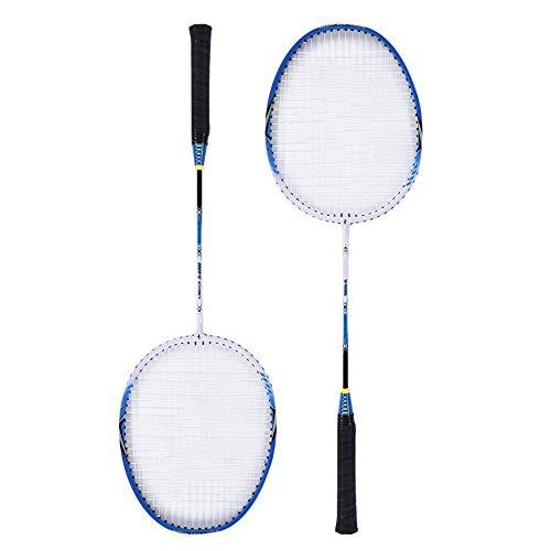 VGEBY Badmintonschläger, Professionelle Badminton-Trainingsschläger mit Tasche