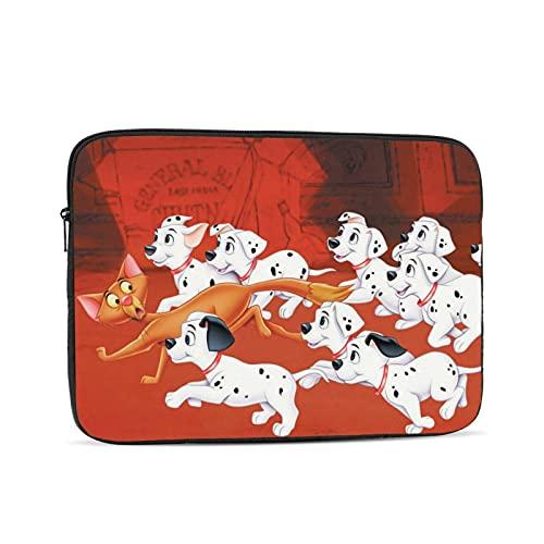 101 Dalmatians Series bolsa de forro para computadora, bolsa de protección para computadora portátil, portátil, valise portátil, bolsa de mano, adecuado para la mayoría de iPad y cuadernos