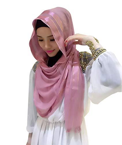 zhbotaolang Dama Bufanda Musulmán Envolver Gorra - Islámico Arabe India Mujer Turbante Sombrero Hijab