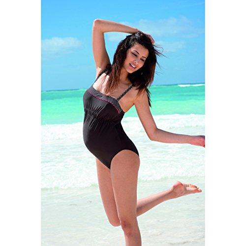 Umstandsmode Badeanzug von ANITA braun Schwangerschaft Gr. 36 CUP C NEU