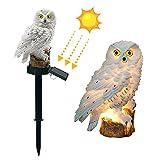 Owl Lawn Lamp,COXTNBIO Solar Lamp Owl Shape...
