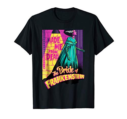 Made Me From Dead Bride Of Frankenstein T-Shirt