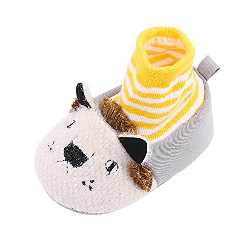 YWLINK Los Zapatos De Bebé De Dibujos Animados Infantiles Cubren Los Pies Zapatos De Piso Calcetines De Piso Zapatos De Bebé Suela Suave Zapatos De Interior para NiñOs Moda,Lindo,Conveniente Y Simple