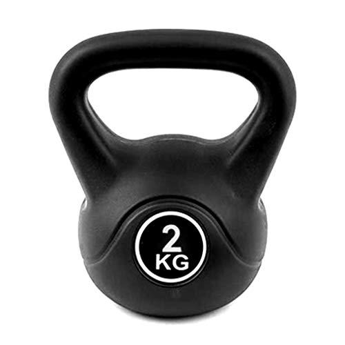 FLAMY Kettlebell Kugelhantel Kunststoff 2 Kg – 24 Kg,Core Festigkeit,Funktionale Fitness,Schwunghantel Workout,Gewicht Training-Freies Gewicht Ausrüstung