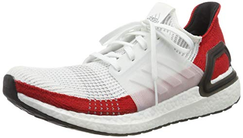 adidas Men's Ultraboost 19 M Running Shoes, White (FTWR White/FTWR White/Core Black FTWR White/FTWR White/Core Black), 9.5 UK