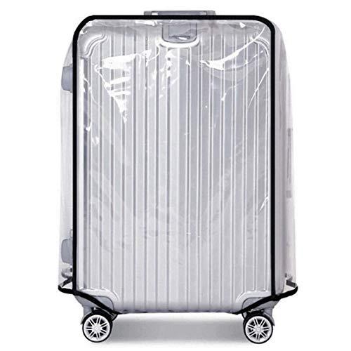 Warmiehomy Transparente Kofferschutzhülle Schutzhülle Wasserdicht Staubdicht Umschlag Gepäck Regenschutz (30