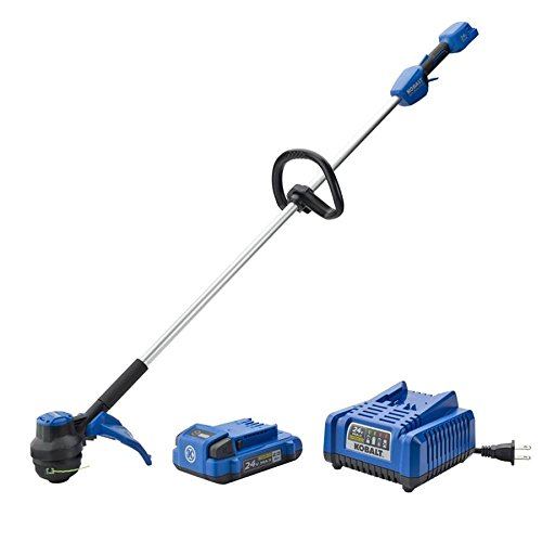 Sale!! Kobalt 24-Volt 12-in Straight Brushless Cordless String Trimmer (Battery Included)