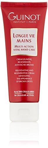 Guinot Longue Vie Mains Multi Action Vital Handpflege(Red Packaging), 1er Pack (1 x 75ml)