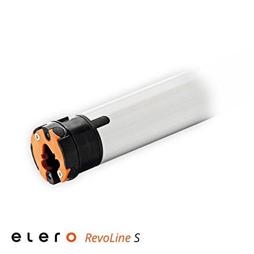 Elero RevoLine S Mechanischer Rohrmotor VariEco S 12 Nm, inkl. drei Hochschiebesicherungen (getestet von DIWARO), Motorlager. Anschlusskabel und SW 40 Adapter / Mitnehmer. (12 Nm)