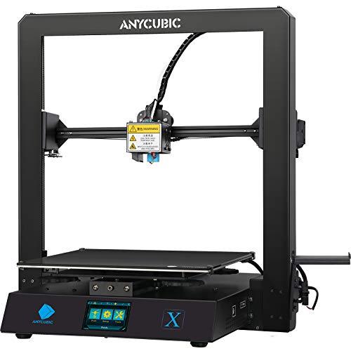 ANYCUBIC 3D Drucker MEGA X, FDM 3D Drucker mit Metallrahmen, Lebenslaufdruck und kostenlosem 1 kg PLA Filament, Baugröße 300 x 300 x 305 mm
