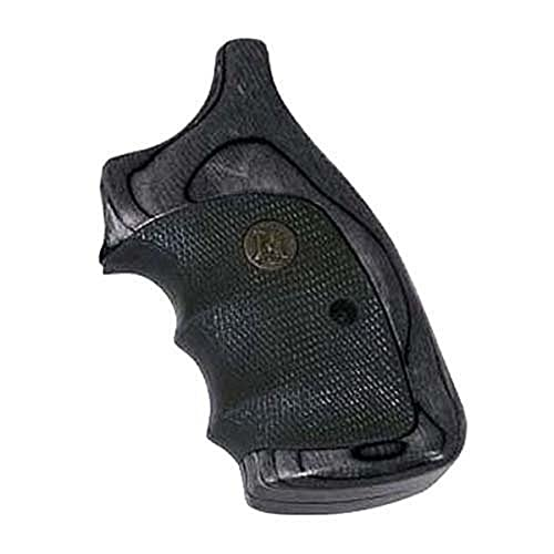 Pachmayr American Legend Smith and Wesson 'J' Frame Grip, Charcoal Silvertone