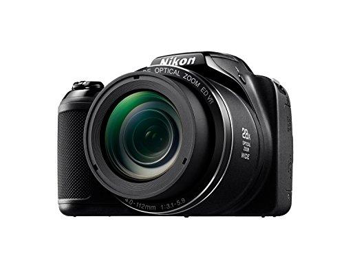Nikon L340 - Cámara compacta de 20.2 Mp (pantalla de 3', zoom óptico 28x, estabilizador), negro