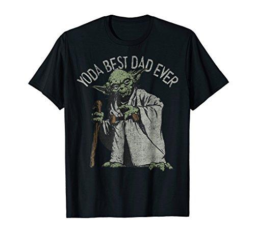 Star Wars Yoda Best Dad Ever Graphic T-Shirt