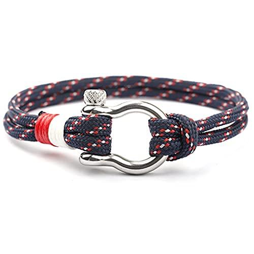 Branets Bracelets nautiques faits à la main en corde de...