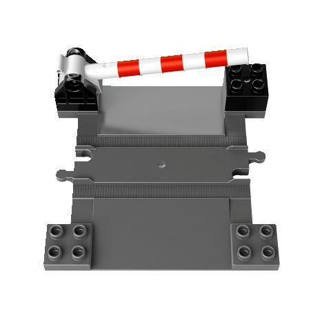 LEGO DUPLO - Eisenbahn Zubehör Set Bahnübergang aus Set 10506