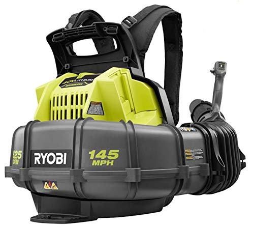 Ryobi 40-Volt Lithium-Ion Cordless Backpack Blower 145 MPH 625 CFM (Tool ONLY- Battery and Charger NOT Included)