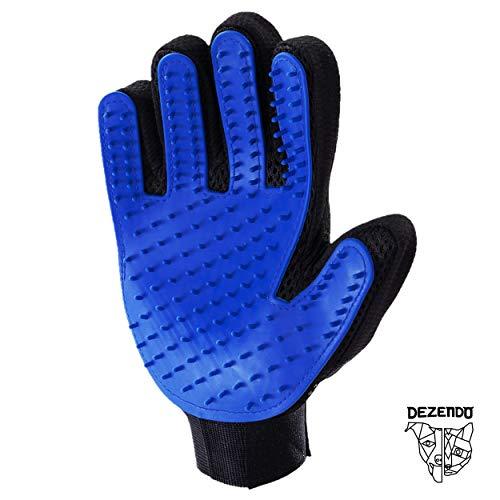 DEZENDO Fellpflege-Handschuh für Hunde