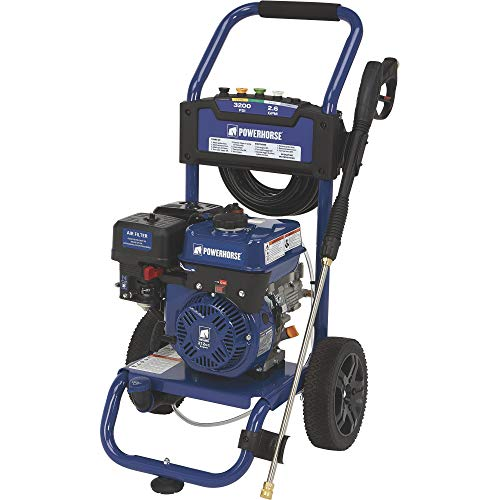 Powerhorse Gas Cold Water Pressure Washer - 3200 PSI, 2.6 GPM