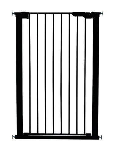BabyDan Barrière de sécurité extra haute avec indicateur de pression Noir