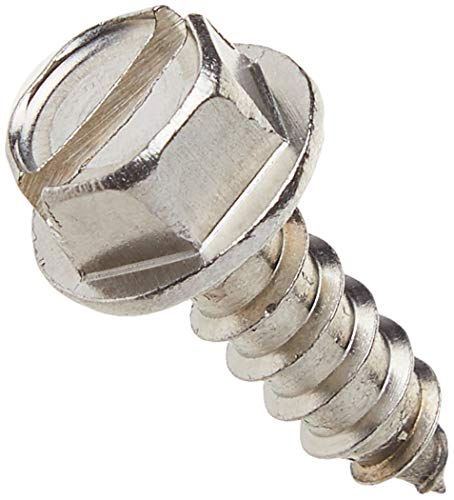 SNUG Fasteners Four (4) Stainless Steel License Plate Screws (SNG253), 4 Count