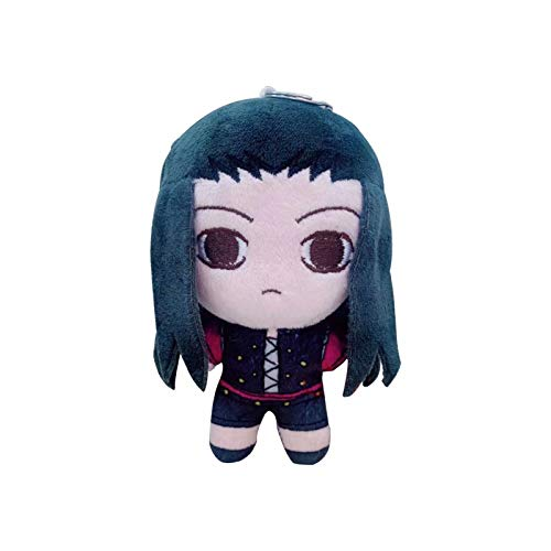 Anime Hunter × Hunter Gon Killua Zoldyck Kulolo Hisoka Muñeco de Peluche Accesorios de Cosplay Juguete de Peluche Mini muñeco de Peluche Colgante Llavero, 13cm